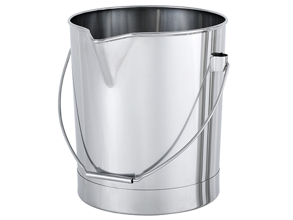 [BA]Stainless Steel Bucket (with Spout)