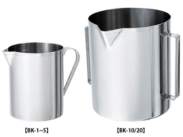 [BK] Stainless Steel Beaker