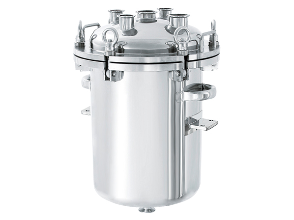 [PCN-O-BRK] Flange Open Pressurized Container with Bracket